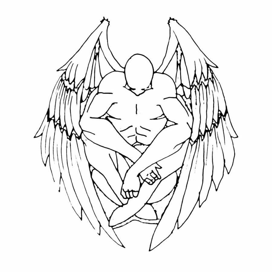 angel tattoos most views this week top art styles