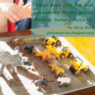 The Berry Bunch: Hogwash - Pudding Sensory Activity {Virtual Book Club For Kids}