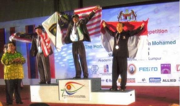 CHAMPION ASEAN SKILL COMPETITION 2008