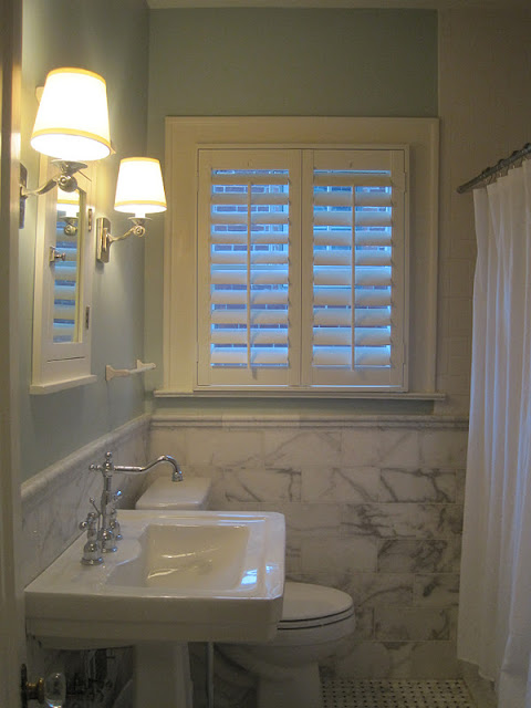 Plantation Shutters for the Bathrooms