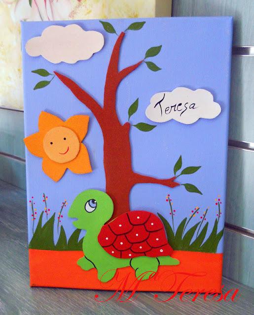 Cuadros decoracion infantil goma eva car interior design - Decorar paredes infantiles con goma eva ...