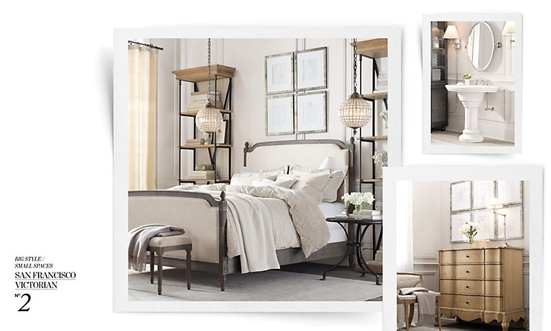 Love of interiors restoration for small spaces - Small spaces restoration hardware set ...