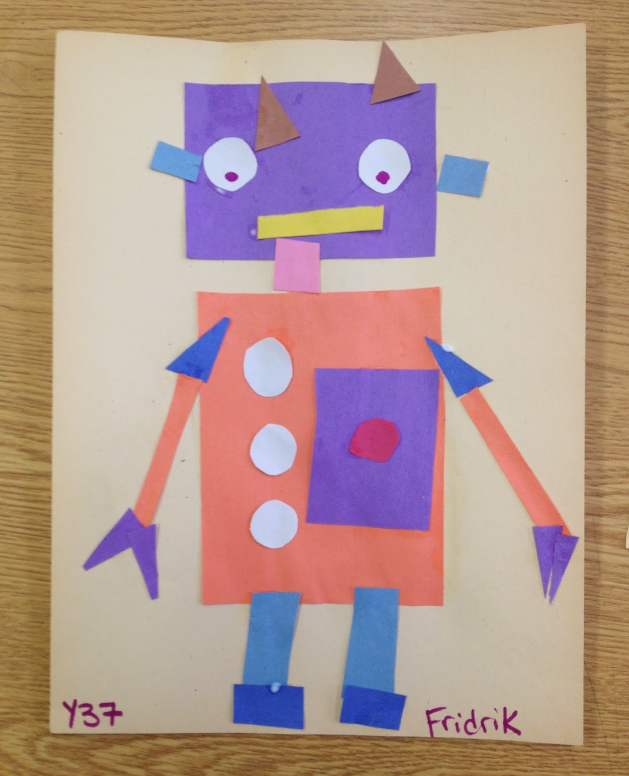 robot geometry Mrs kelly's 2nd grade geometry unit: home lesson one: shape robot lesson two: greedy shapes lesson three: tessellations.