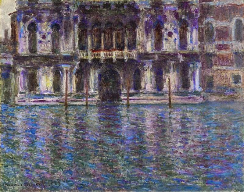 Claude Monet Le Palais Contarini. 1908