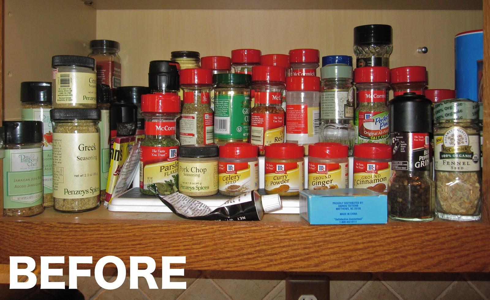 Kitchen Corner Spice Cabinet