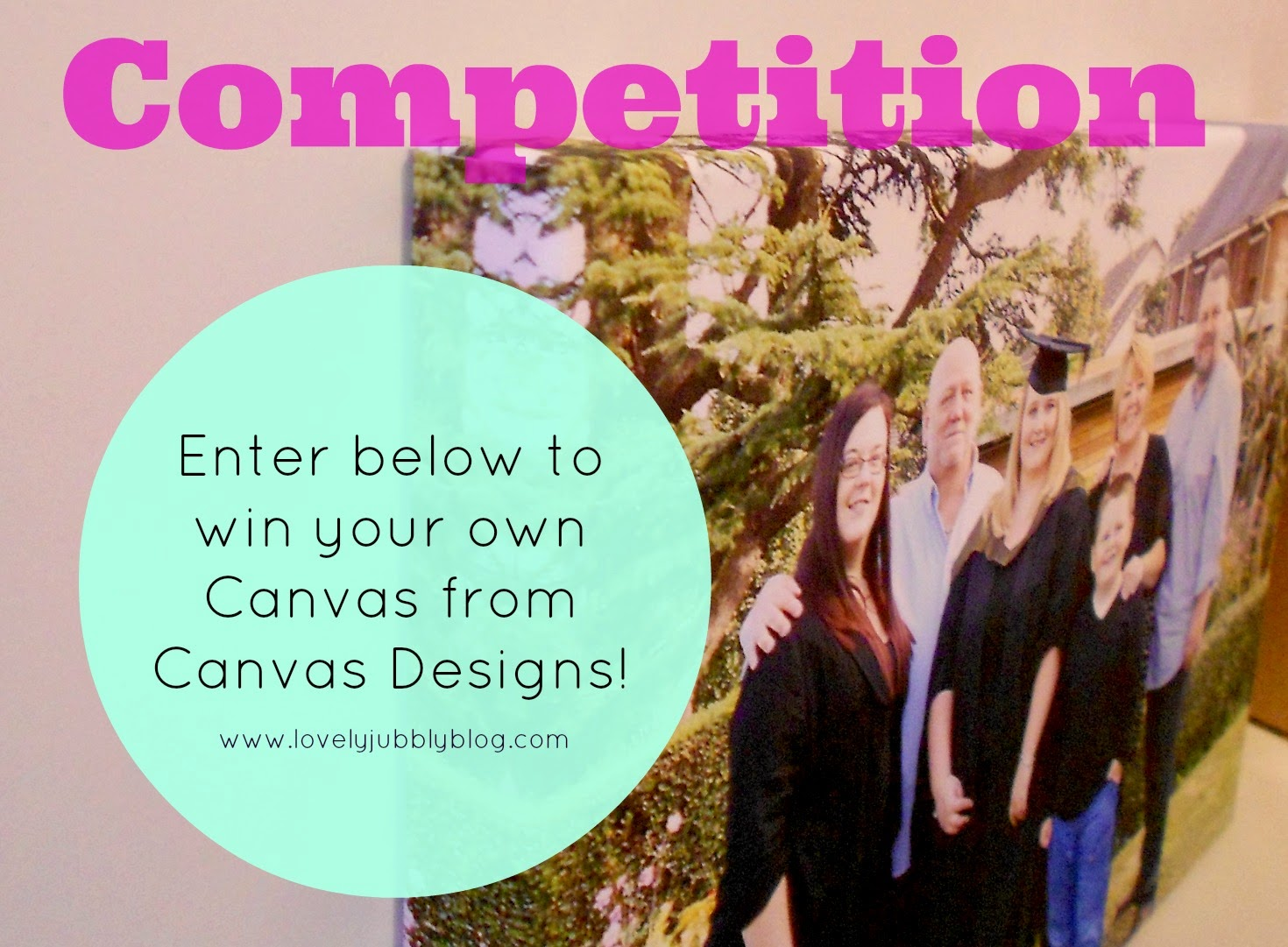 blog giveaway win a canvas printed design uk review