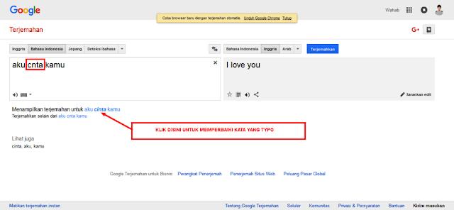 Cara Paling Mudah dan Paling Cepat Memperbaiki Artikel Typo Dengan Google Translate