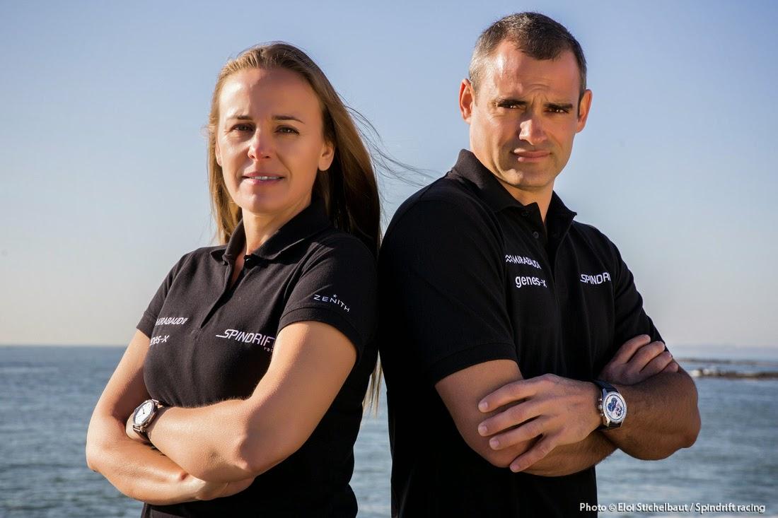 Dona Bertarelli et Yann Guichard sur le circuit GC32 en 2015 !