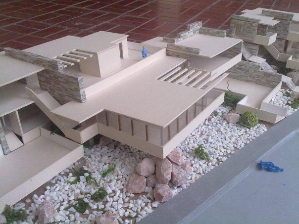 Arquitectura moderna maquetas modernistas for Arquitectos de la arquitectura moderna