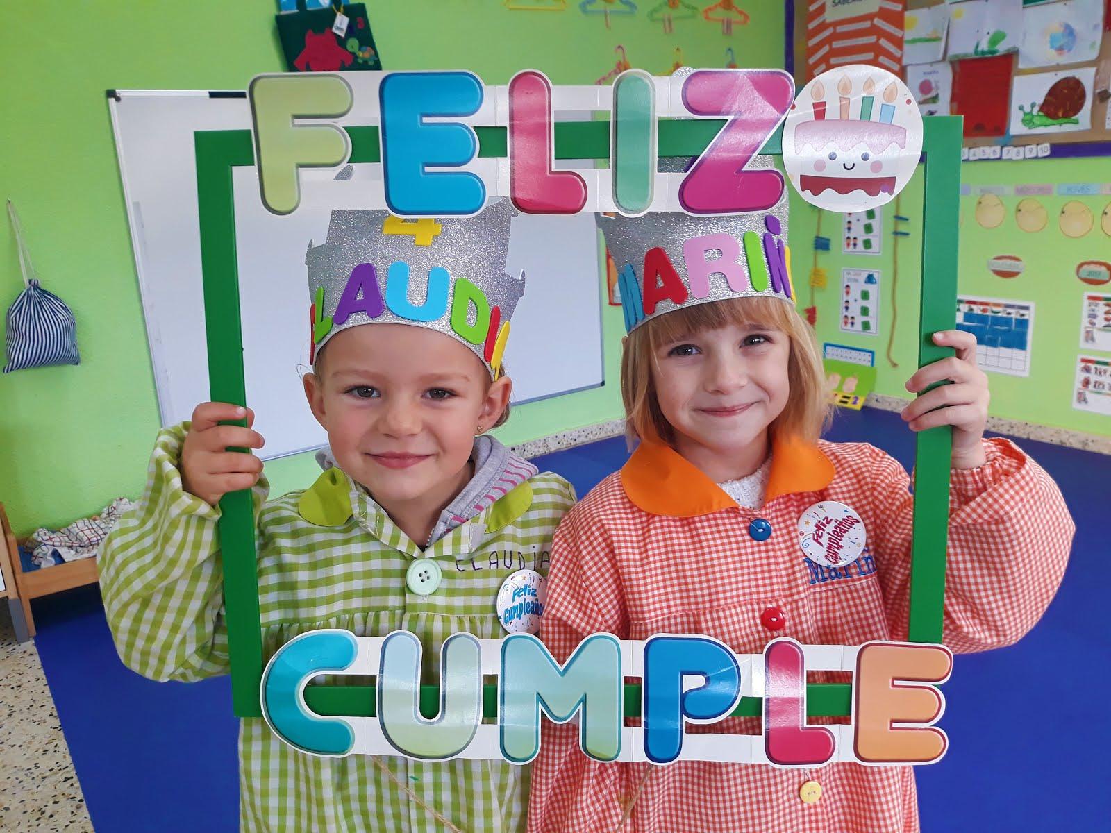 En novembro celebramos os aniversarios de Claudia e Mariña!