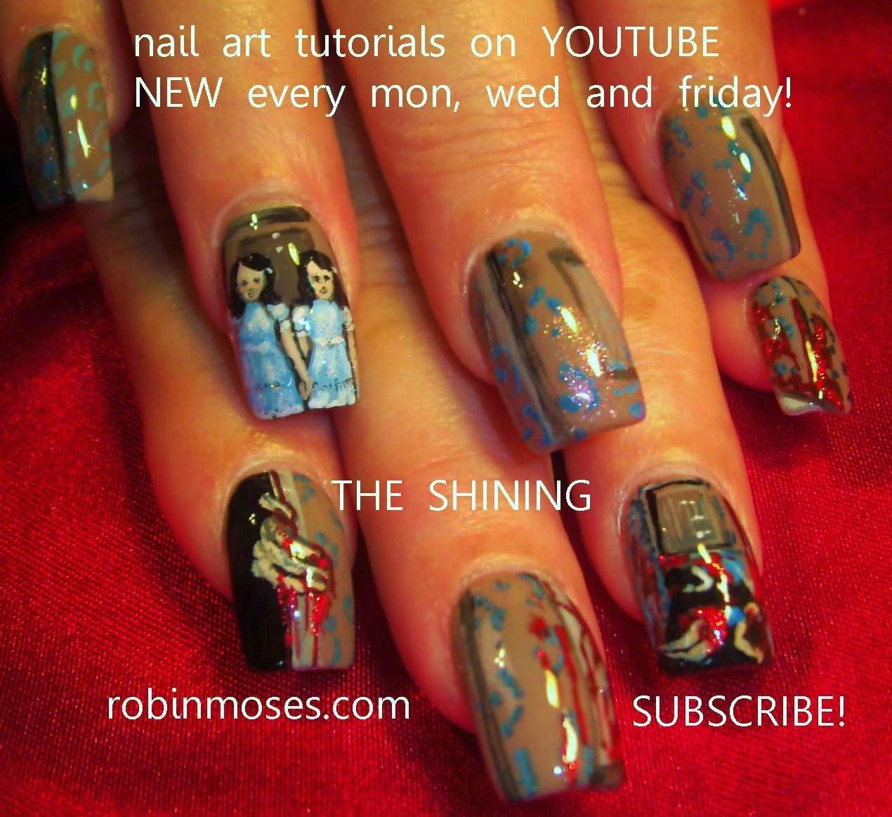 scary nails\