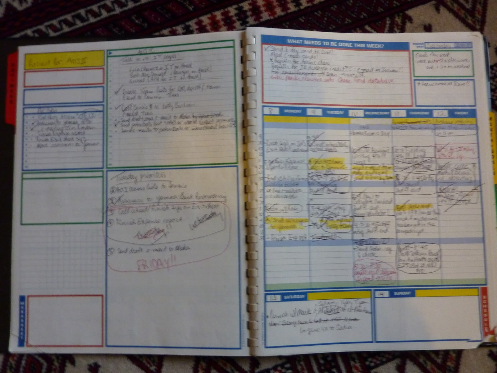 Plannerisms: Planners at work