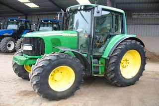 Tractoare John Deere 6420 Premium second hand 2005