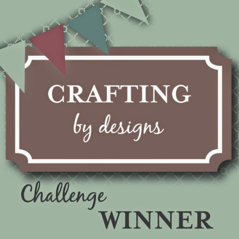 5 x Crafting By Designs Winner