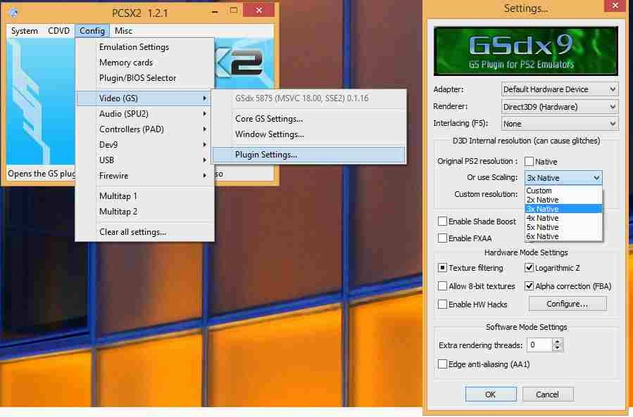 Pcsx2 bios, plugins-setup and configuration