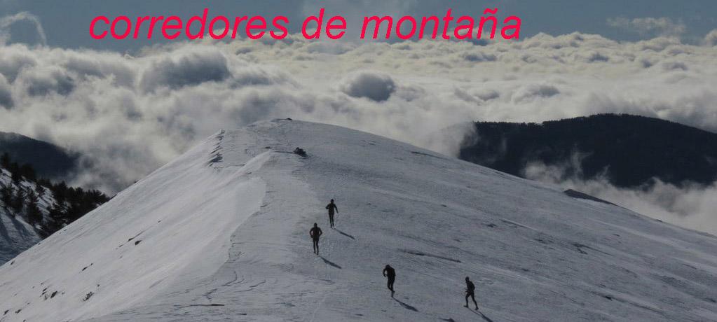 CORREDORES DE MONTAÑA
