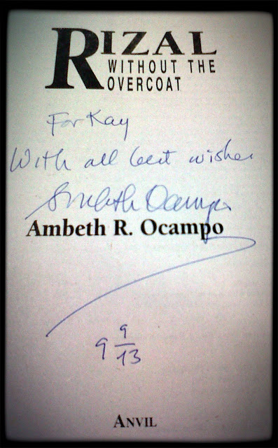 book review of rizal without the overcoat