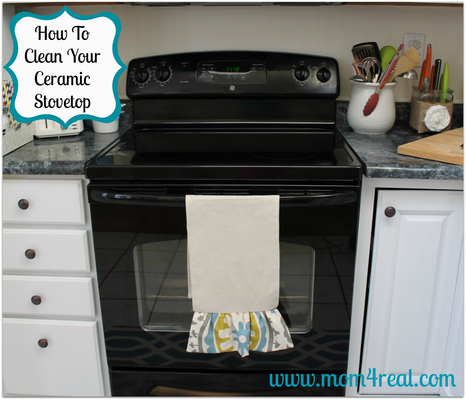 How to clean your ceramic stovetop mom 4 real How to clean top of oven