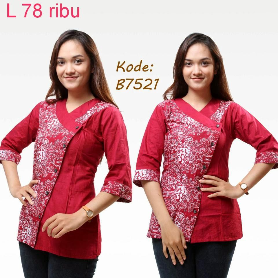Model Baju Batik Untuk Kerja Kantor | Model Baju Batik