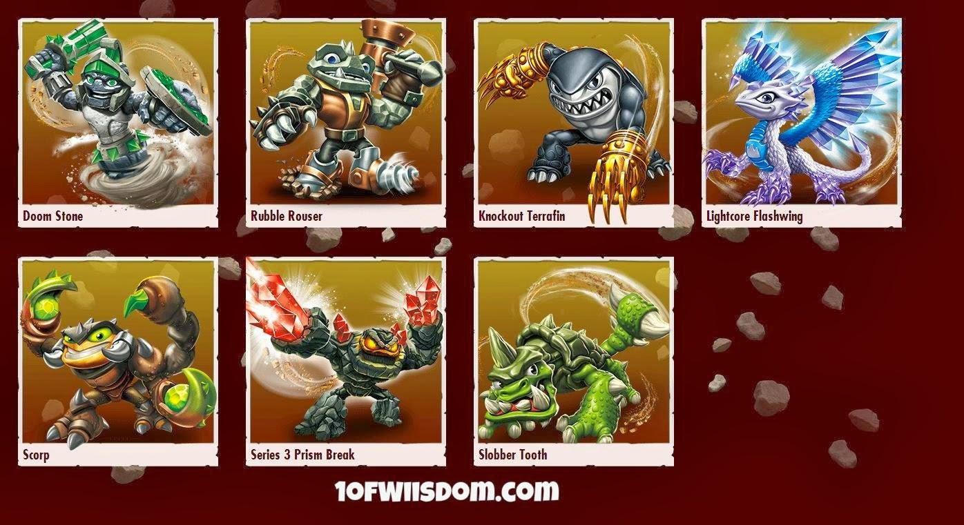 Wiisdom: All Skylanders SWAP Force Characters Revealed ...