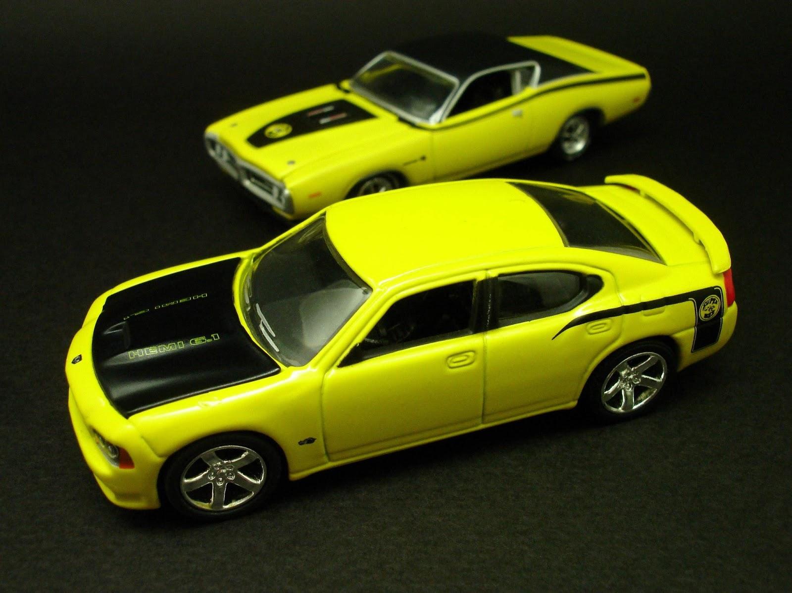 Diecast Hobbist Custom 2007 Dodge Charger Srt8 Super Bee