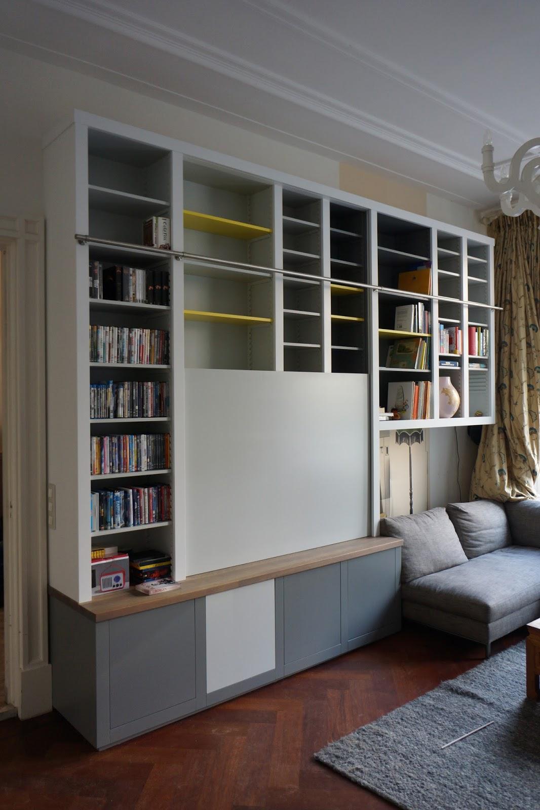 Boekenkasten en boekenwanden - Eigentijdse boekenkast ...