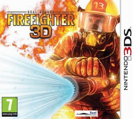 Real Heroes Firefighter 3D (Nintendo 3DS) (Español)