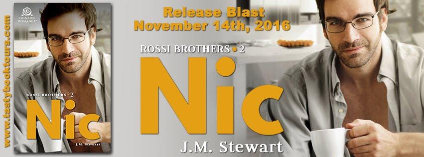 """Nic"" by J.M. Stewart RELEASE BLAST"