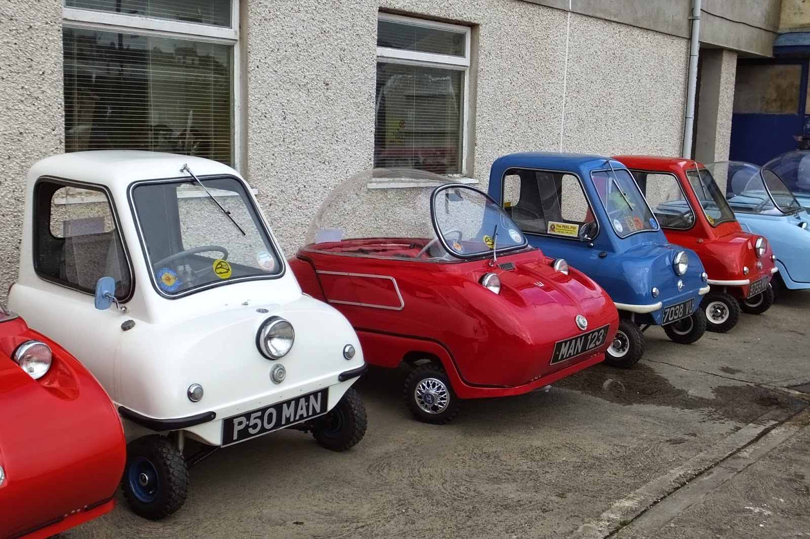 north american manx association blog the peel p50 celebrates 50th birthday. Black Bedroom Furniture Sets. Home Design Ideas