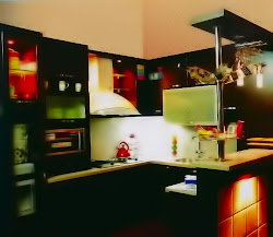 Model Kitchen set Lux