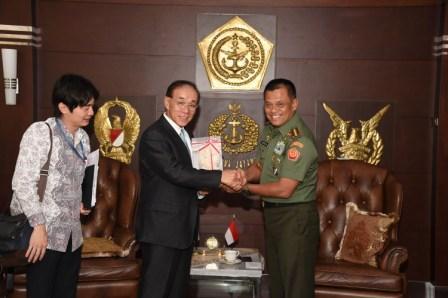 FOTO: Panglima TNI terima Duta Besar Jepang