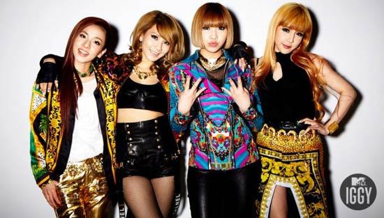 2NE1 chuẩn bị tái xuất sau một năm chuyên tâm cho world tour.