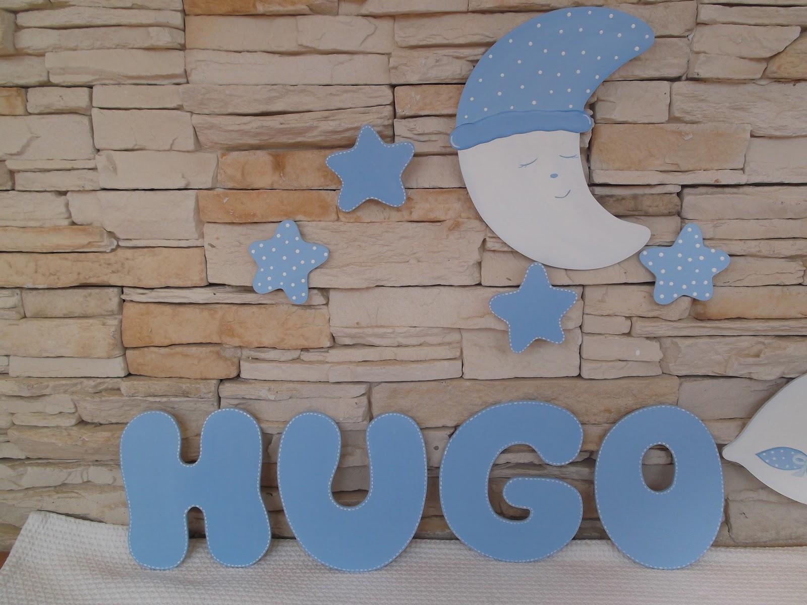 Decoraci n infantil pekerines letras de madera para - Letras de nombres para decorar ...