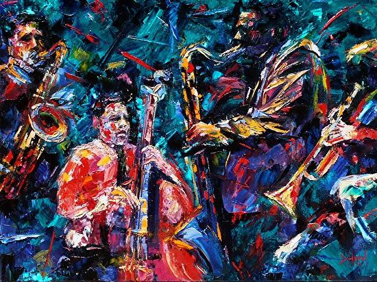Painting by Debra Hurd