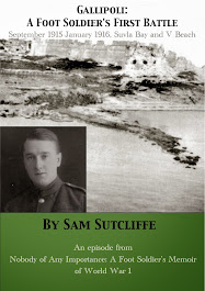 Gallipoli: A Foot Soldier's First Battle September 1915-January 1916 Suvla Bay and V Beach
