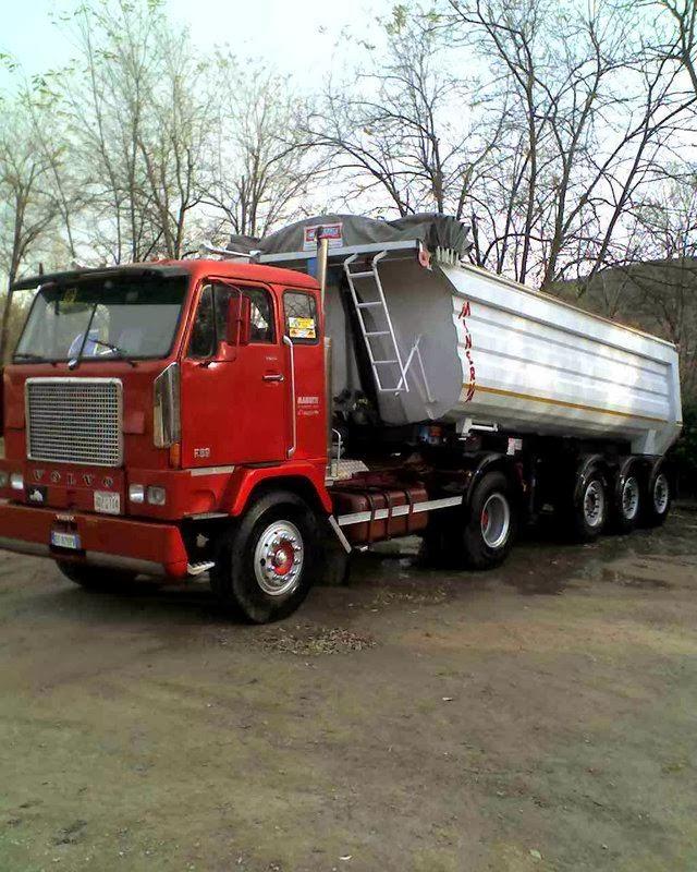 allestimento betoniere su camion F+89+3
