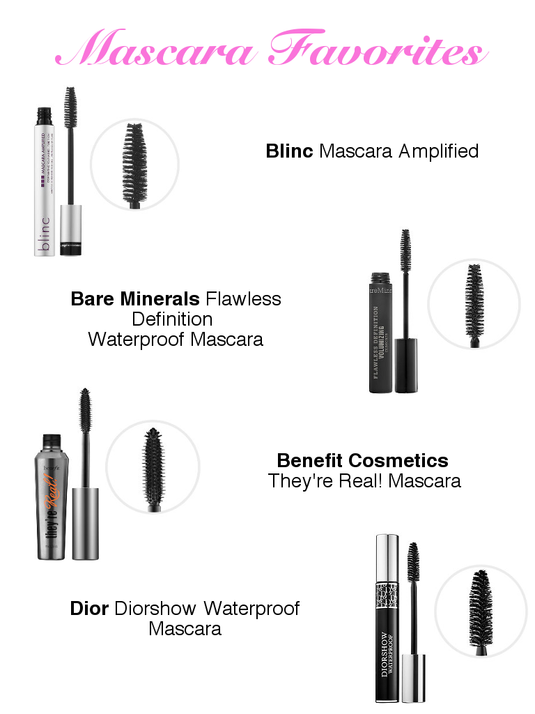 Mascara Favorites Anchors and Pearls
