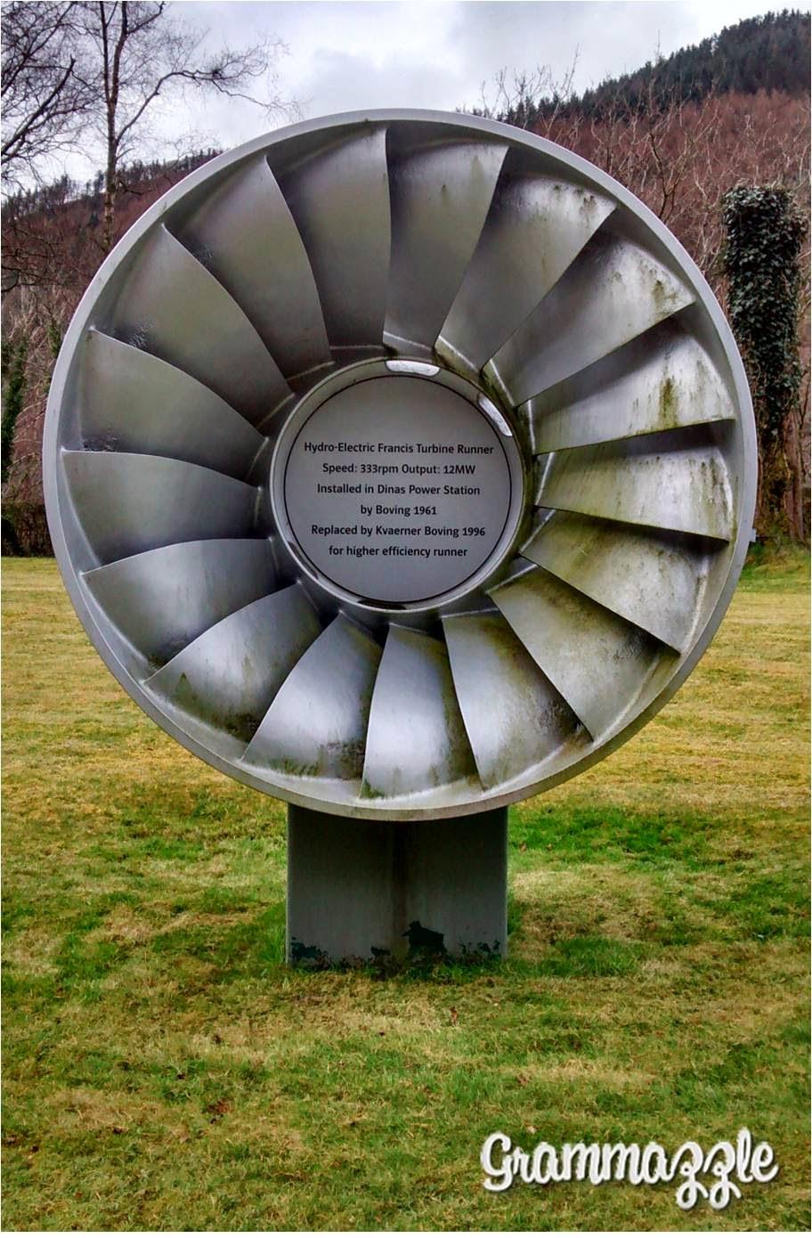 Grammazzle Turbina Rheidol Wales