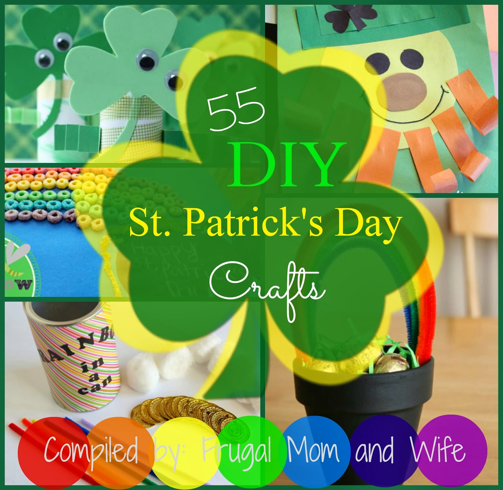 Frugal mom and wife 55 diy st patricks day crafts 55 diy st patricks day crafts solutioingenieria Gallery