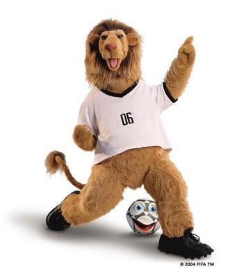 Gambar Goleo, Maskot Piala Dunia 2006 Jerman