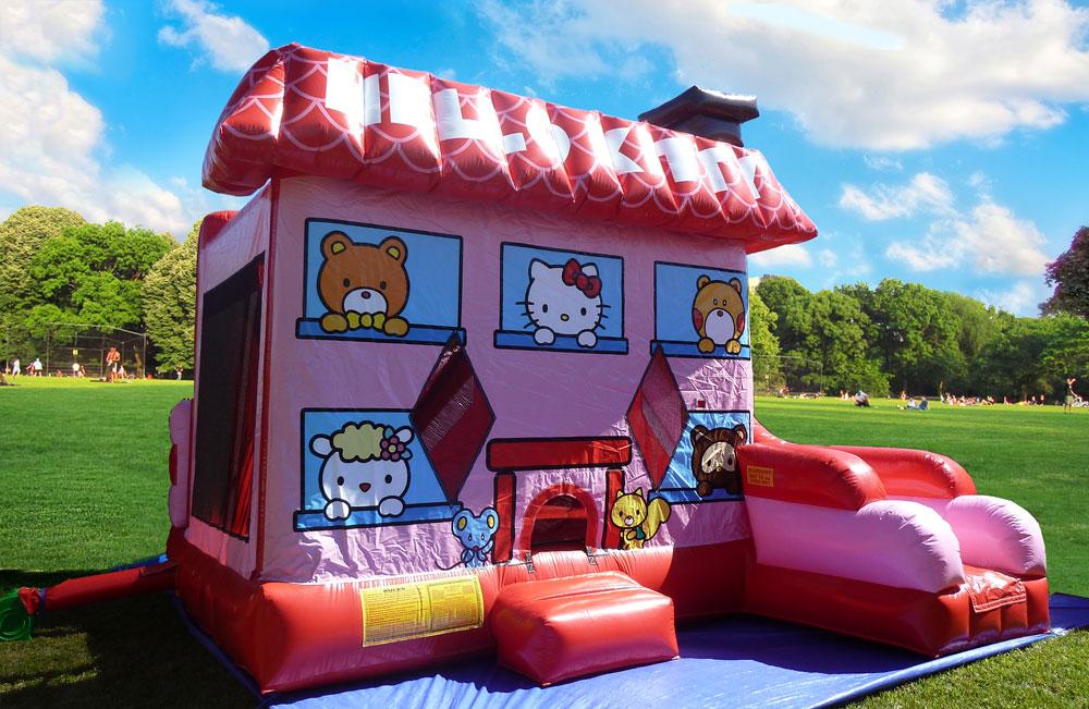 Inflatable Kingdom Kidz Zone Hello Kitty Inflatable Combo