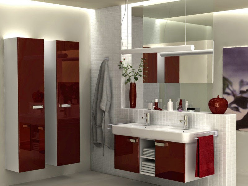 Charmant One Additional Crucial Factor On Bathroom Designing Project Is On Deciding  The Right Bathroom Lighting. In The Bathroom Area, Only One Upper Light Is  Simply ...