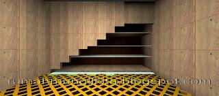 rak gudang bawah tangga