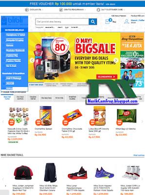toko online terlengkap terbaru terpercaya blibli.com