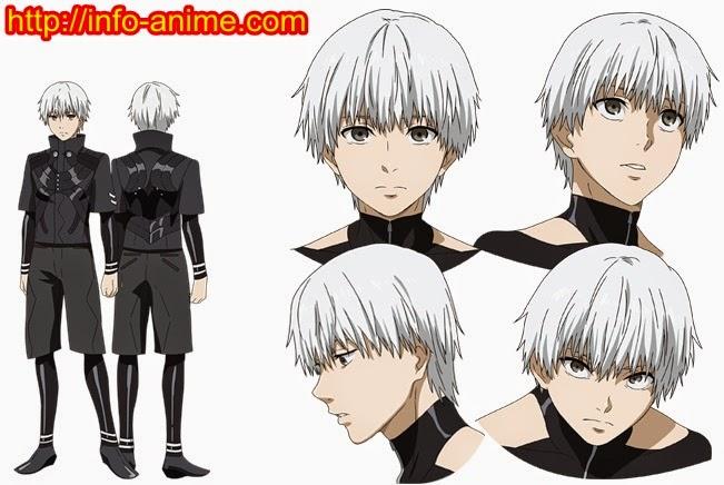 [ Info-Anime ] Tokyo Ghoul Season Kedua Perlihatkan Desain Karakter