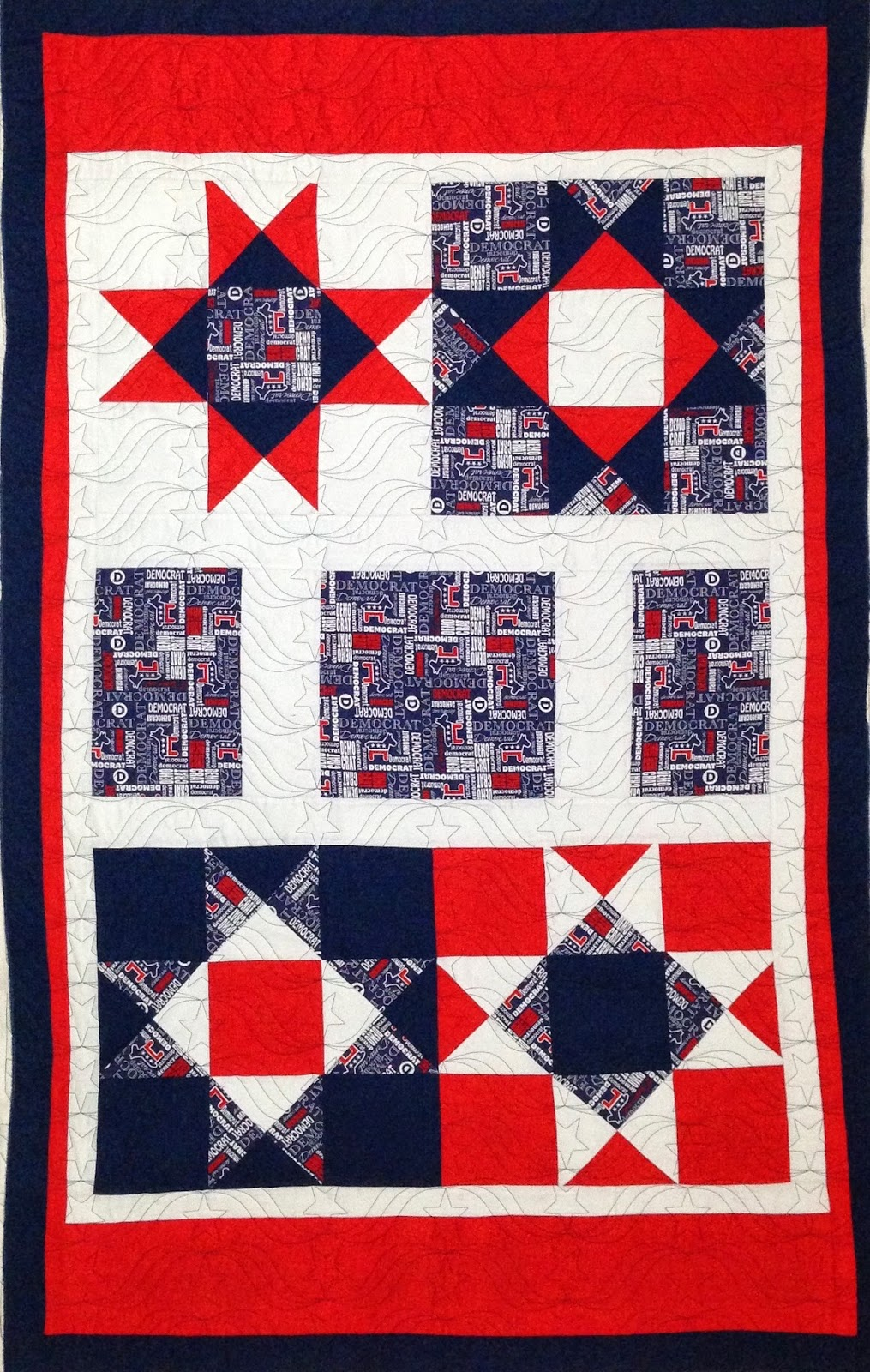 Joan McGarity Democratic Quilt