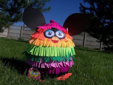 Piniata Furby - pyszne słodycze !!!