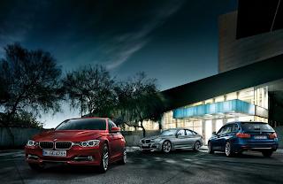 2014 BMW 3-Series lineup