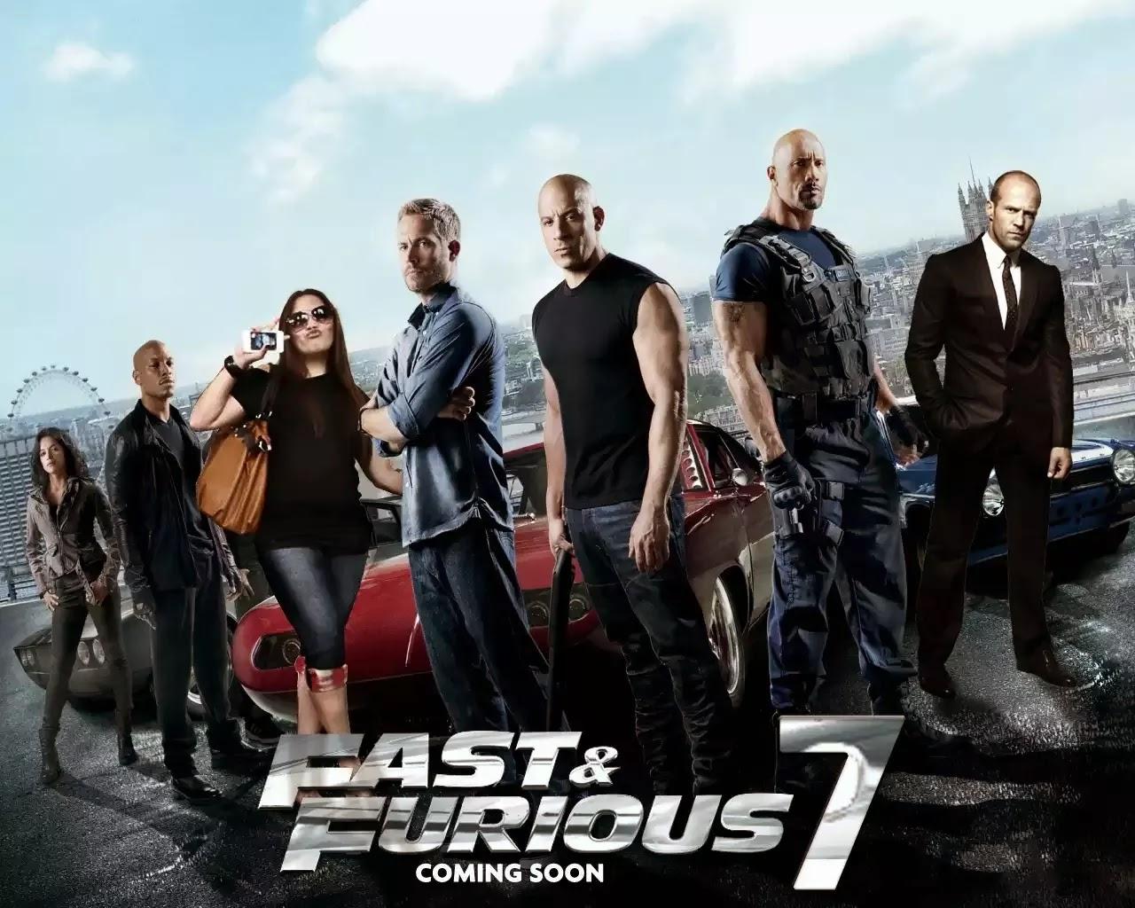 Fast and Furious 7 Aksi yang mendebarkan