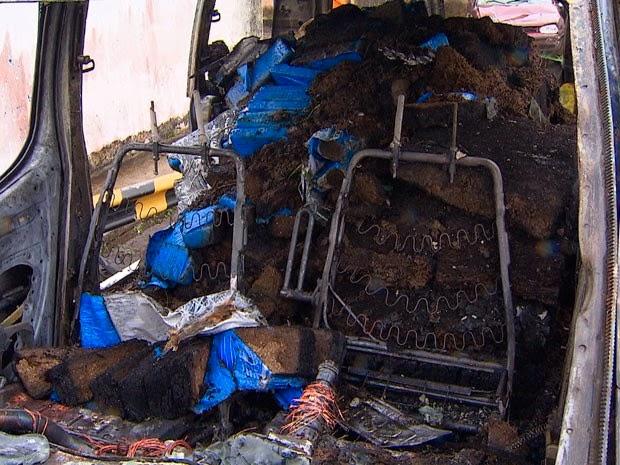 Segundo PRF, carro estava carregado com 1 tonelada e meia de maconha (Foto: Reprodução/TV Bahia)